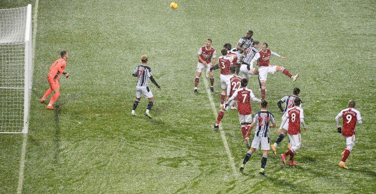 Arsenal leeft op in de sneeuw en nadert linkerrijtje na derde zege op rij
