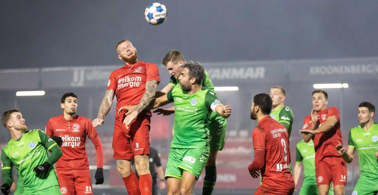 Almere City op Eredivisie-koers na in extremis gewonnen topper tegen De Graafschap