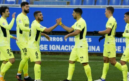 Afbeelding: Atlético pakt koppositie weer over van Real: Suárez in blessuretijd matchwinner