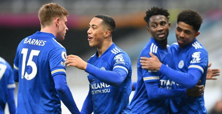Leicester City pakt volle buit tegen Newcastle, Tielemans pikt goaltje mee