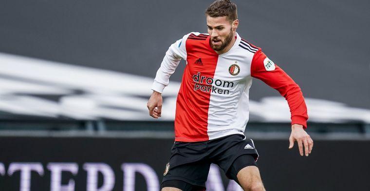 'Ik weet nog niet of Feyenoord de optie gaat lichten of een andere keuze maakt'