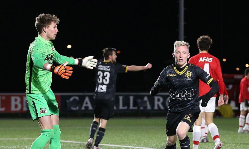 Afbeelding: Jong Utrecht verslaat FC Den Bosch, benauwde zege Roda in Alkmaar
