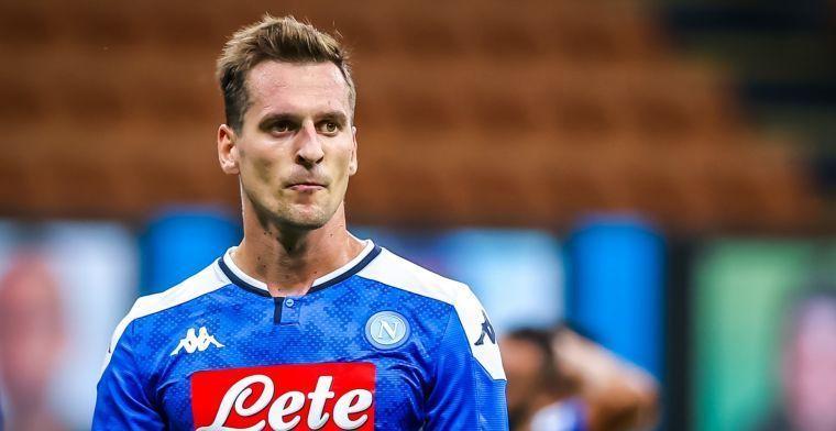 Extra transferoptie voor Milik: Helaas is het uitgelekt in de Italiaanse pers