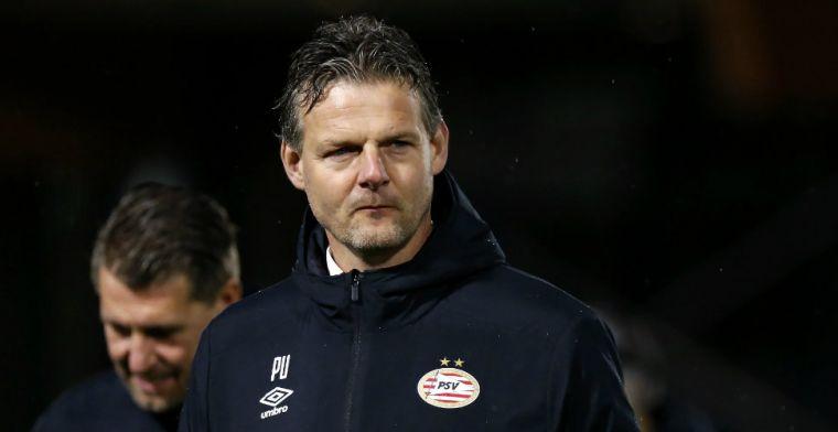 Uneken vertrekt: Jong PSV kan na dit seizoen op zoek naar nieuwe trainer