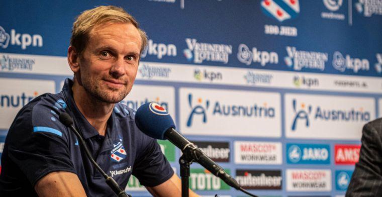 Heerenveen-trainer Jansen legt basisplaats weg voor De Jong: 'Een verlengstuk'