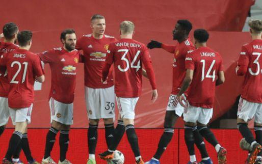 Afbeelding: Man United en Van de Beek vechten zich langs Watford en bekeren verder in FA Cup