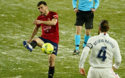 Afbeelding: Real Madrid laat punten liggen na verstoorde voorbereiding in besneeuwd Spanje
