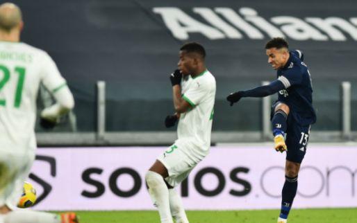 Afbeelding: Juventus komt met de schrik vrij tegen Sassuolo en vervolgt opmars in Serie A