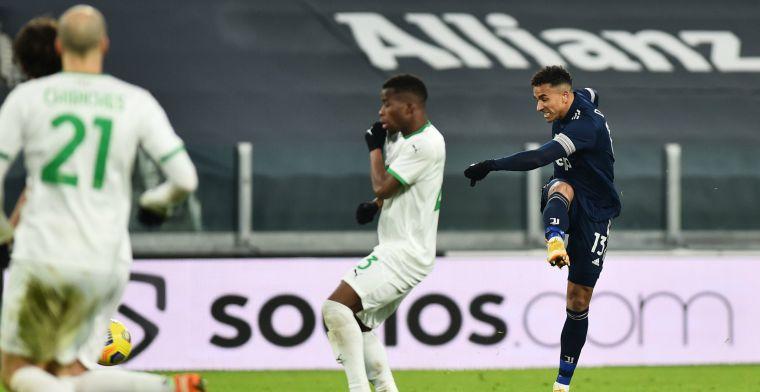 De Ligt-loos Juventus kan opgelucht ademhalen tegen tiental van Sassuolo