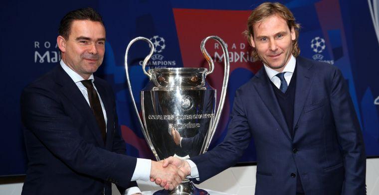 Overmars ziet 'goede toekomstmatch' bij Ajax: Ik hoop absoluut dat hij bijtekent
