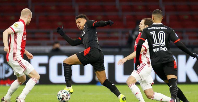 Spitsenduo PSV oogst lof na sterk optreden tegen Ajax: 'Van de buitencategorie'
