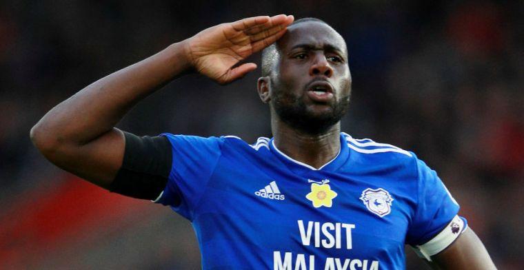 Vreselijk: Cardiff-speler Bamba (35) getroffen door zeldzame vorm van kanker
