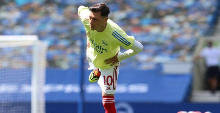 Overbodige Özil hint naar transfer: 'Twee landen waar ik nog wil spelen'