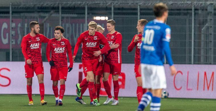 Jong PSV pakt de volle buit tegen FC Dordrecht, Jong AZ doet goede zaken