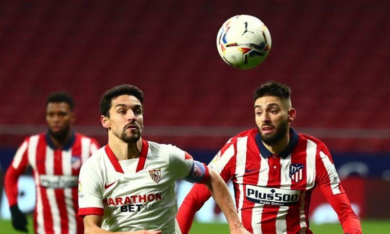 Afbeelding: Atlético en Carrasco zetten titelambities in de verf met zege tegen Sevilla