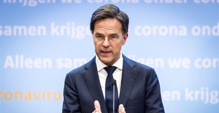 KNVB reageert op persconferentie: 'Rutte zei dat steun nu logisch zou zijn'