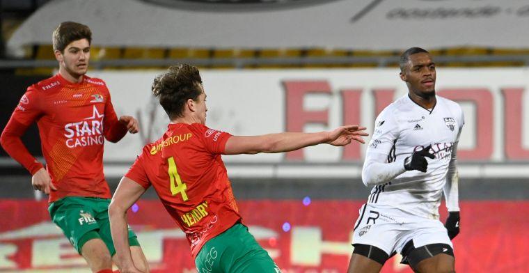 Oostende houdt slechts één punt over na 75 minuten voetballen tegen tien Panda's