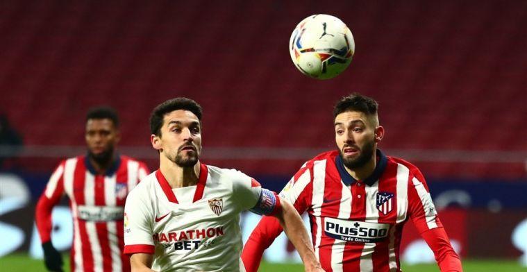 Atlético onderstreept titelaspiraties met knappe zege op subtopper Sevilla