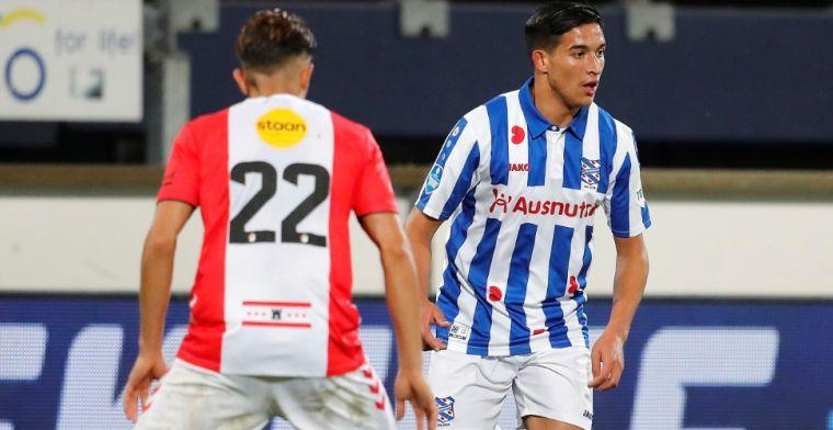 Heerenveen heeft na 111 Eredivisie-minuten genoeg gezien en deelt contract uit