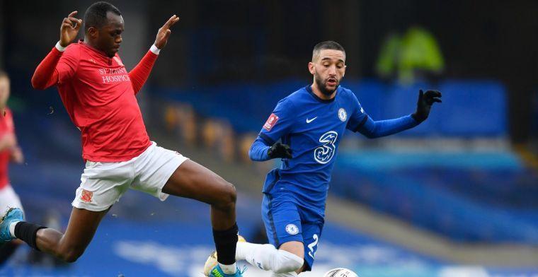 Lof voor Ziyech: 'Wij hebben die connectie, zodra hij de bal krijgt ga ik rennen'
