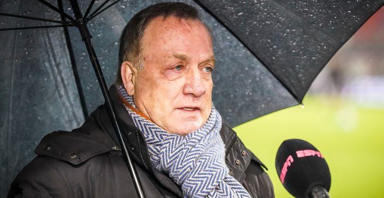Advocaat verklaart reserverol: 'Zestig minuten zondag tegen Sparta waren al veel'