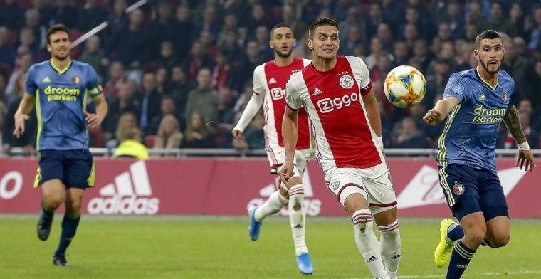 Ajax gebombardeerd tot grote favoriet in Klassieker tegen Feyenoord