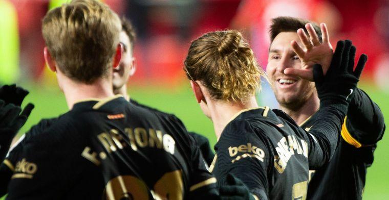 Barcelona maakt opstelling bekend: Messi afwezig tegen Real Sociedad
