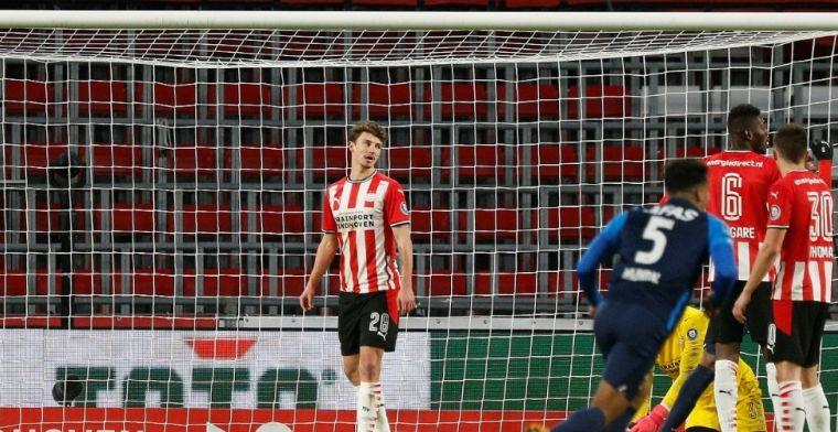 PSV loopt achter de feiten aan: 'Die achterlijke keeper: wat komt hij doen?'