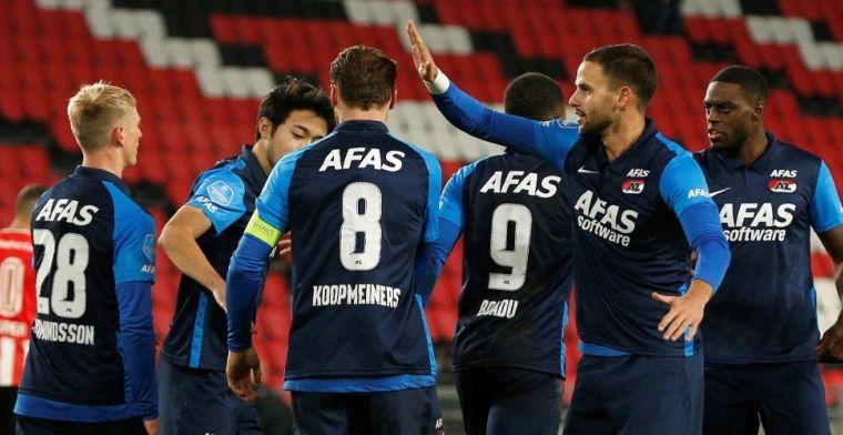 AZ verrast PSV in Eindhoven en meldt zich weer in de Eredivisie-top
