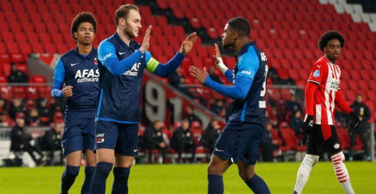 PSV en AZ op rapport: zeven onvoldoendes bij matig PSV, Koopmeiners schittert