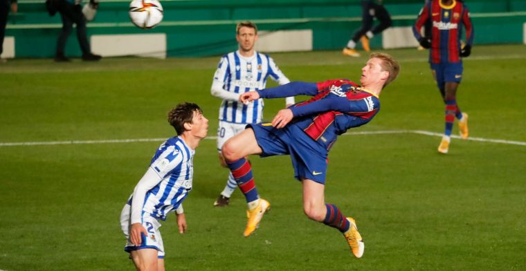 Barcelona bereikt eindstrijd op turbulente avond