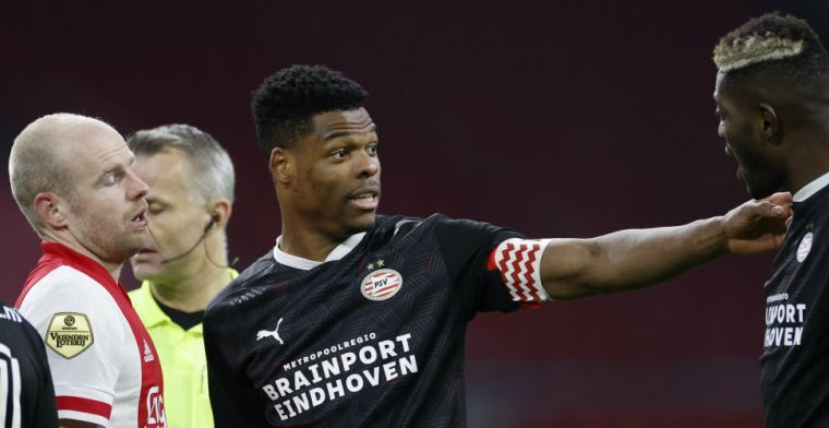 Dumfries noemt ideale vervolgstap na PSV: 'Ik zie de koppen alweer voor me'