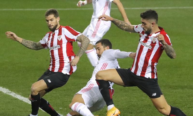 Afbeelding: Hazard en Courtois uitgeschakeld, geen Clásico tegen Barcelona