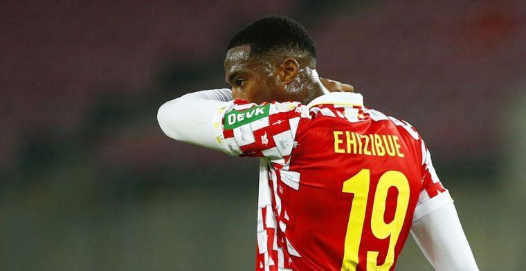 'Voormalig PEC-speler Ehizibue moet vertrekken bij Duitse laagvlieger Köln'