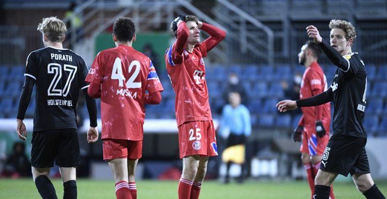 Müller ruziet met lachende verslaggever: 'Natuurlijk heb je gelachen!'