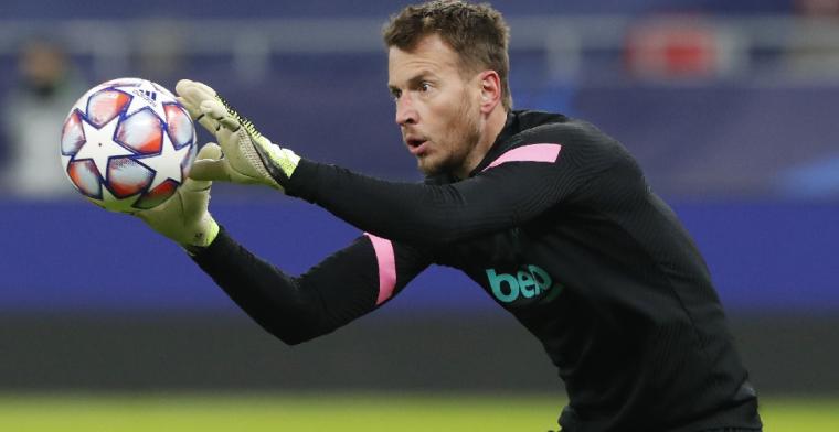 'Arsenal zoekt nieuwe doelman en denkt die gevonden te hebben bij Barcelona'