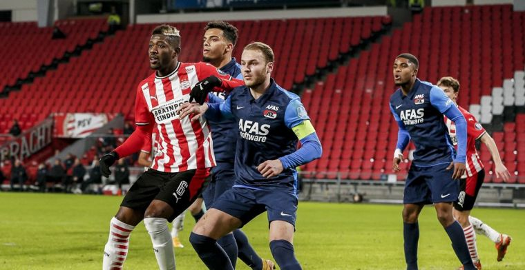 'AZ-driehoek met Koopmeiners is titelkandidaat-onwaardig PSV te machtig'