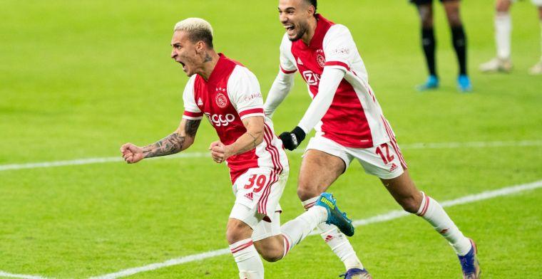 Antony: 'Ik wist allang dat ik naar Ajax zou gaan, dus ik was erop voorbereid'