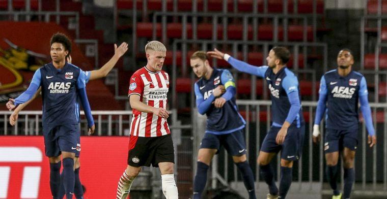 PSV likt de wonden: 'Ik blijf overtuigd van onze mogelijkheden, wij komen terug'