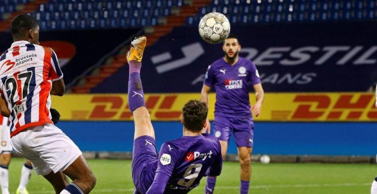 Willem II-comeback voor niets geweest: Groningen wint na bizar slotstuk
