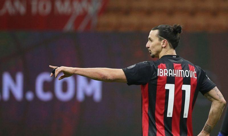 Afbeelding: Ibrahimovic (39) weet van geen ophouden: 'We praten over contractverlenging'