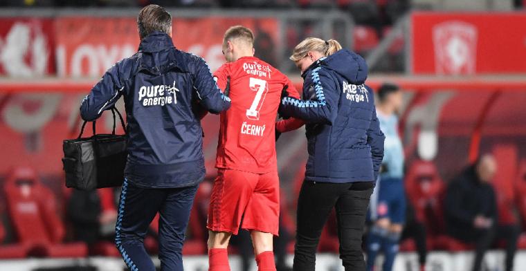 Dramatisch nieuws van FC Twente: einde seizoen voor Cerny