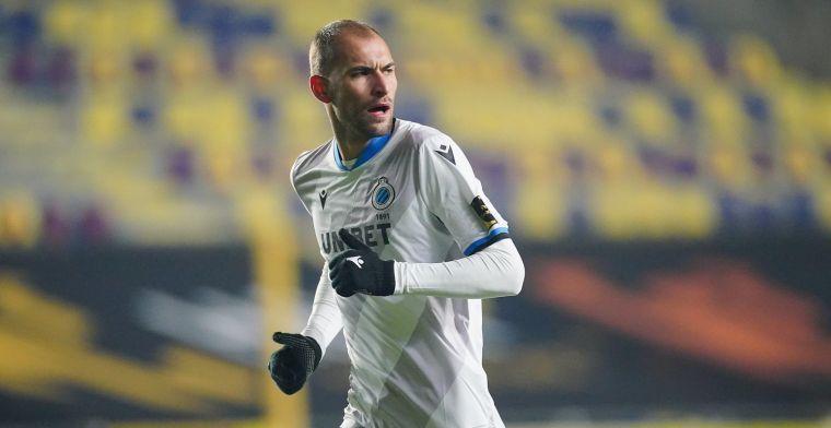 """Dost praat over blessure bij Club Brugge: """"Die stelt niets voor, hoor"""""""