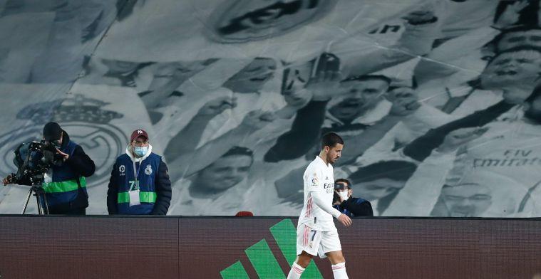 """Zidane geeft Hazard niet op: """"We moeten voorzichtig met hem omspringen"""""""