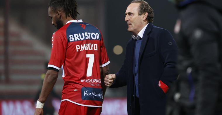 KV Kortrijk komt met statement over Vanderhaeghe: 'Verbazing en onjuist'