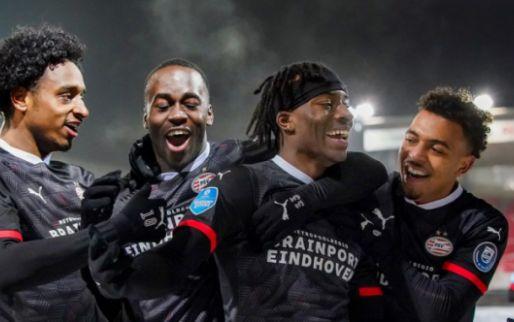 LIVE: PSV met de schrik vrij na late goal Malen tegen Sparta (gesloten)
