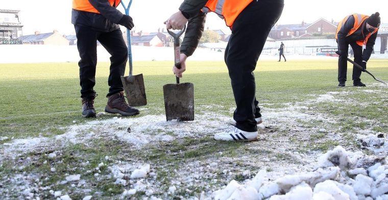Charleroi houdt sneeuw onder controle, KV Mechelen bedankt vriendelijk