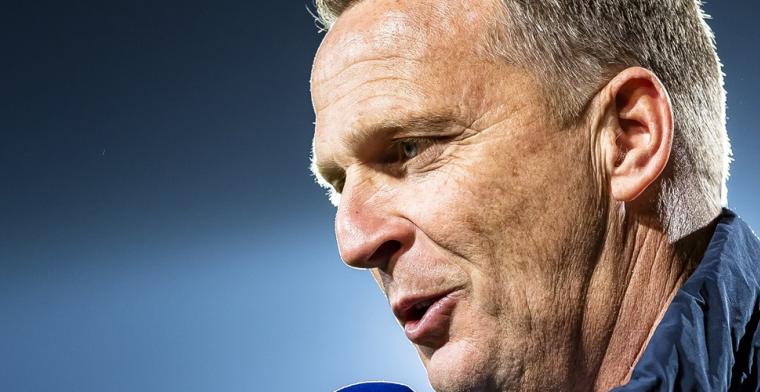 """Van den Brom spreekt over tactiek bij KRC Genk: """"Daar stond toen iets"""""""