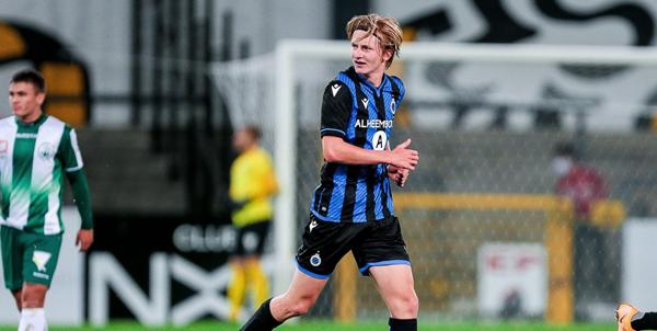 OFFICIEEL: Exit Schrijvers, Club Brugge haalt 17-jarig talent meteen bij A-kern