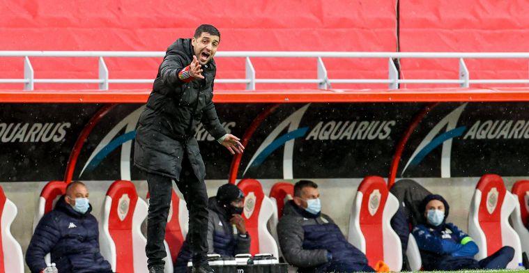 OPSTELLING: Nieuweling Druijf moet wachten op kans bij KV Mechelen